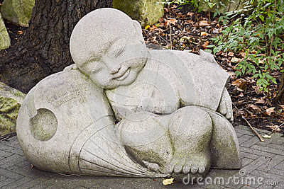 Little Buddha, Chinese Garden of Friendship, Darling Harbour, Sydney, New South Wales, Australia