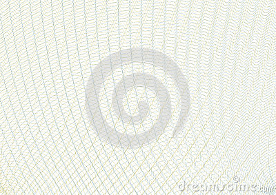 Guilloche vector background grid. Template to protect the securities, gift coupons, certificates, diplomas, letterheads, documents