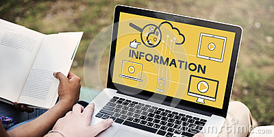 Information Data Devices Storage Technology Concept