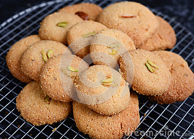 Nankhatai-Indian shortbread cookies
