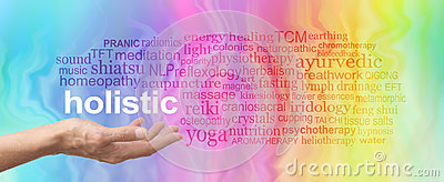 Holistic Therapy Word Cloud