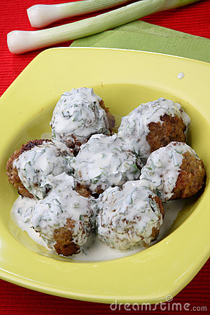Minced meat fried balls