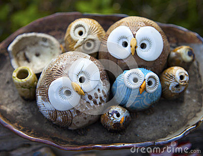 Owl Clay Handicrafts