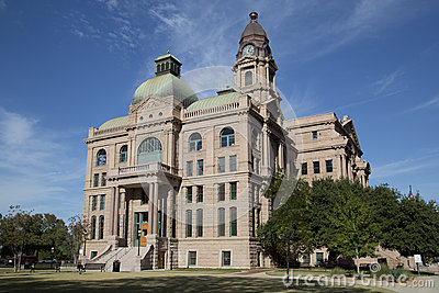 Historic building Tarrant County Courthouse