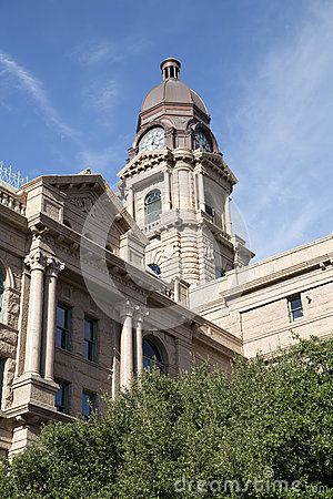 Historic building Tarrant County Courthouse TX
