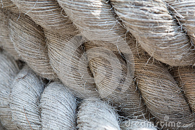 Old thick rope