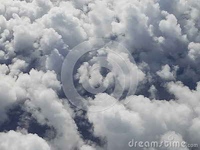 stock image of clouds emotions and dreams