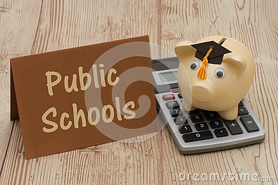Saving on education by attending public schools