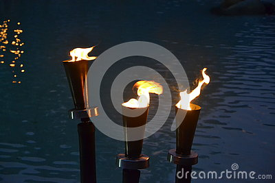 Resort torches