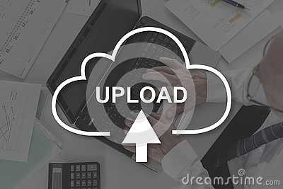 Concept of data upload