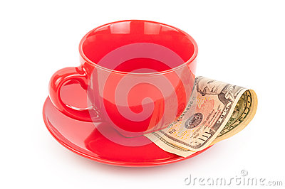 Tipping under the cup