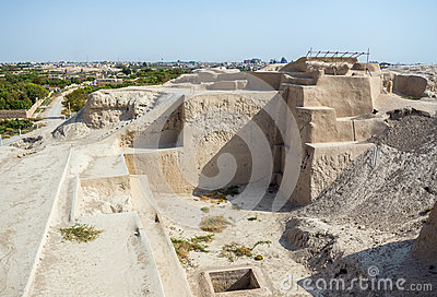 Archeological site in Iran