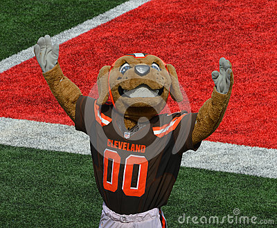 Chomps NFL Mascot The Cleveland Browns