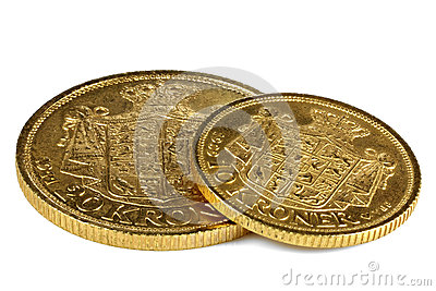 Danish gold coins