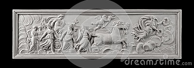Plaster painting, antiquity decorate