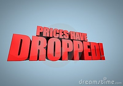 Prices have dropped