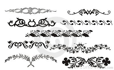 Collection Of Border And Corner Design