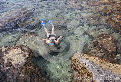 Snorkel at the beach