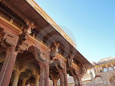 Kali Temple of Amber Fort in Jaipur, India