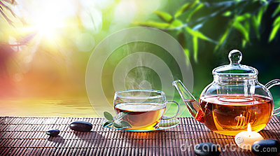 Teatime - Relax With Hot Tea