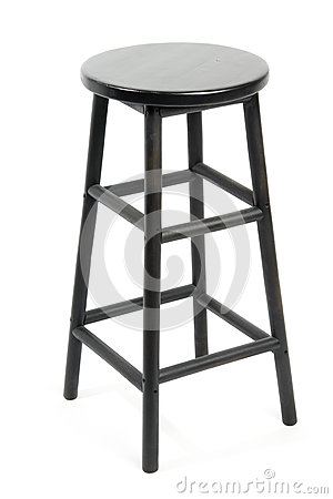 Bar stool isolated