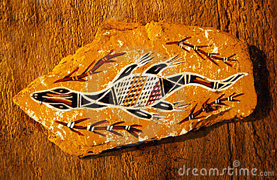 Aborigine drawing, australia tribal art