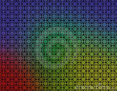 Red Green Yellow Blue Geometric Wallpaper