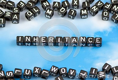 The word face inheritance