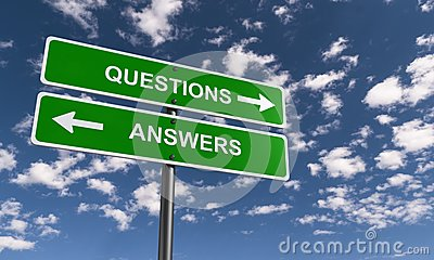 Question and Answer Signs