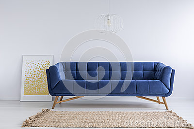 Room with sofa and rug