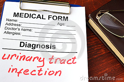 Urinary tract infection.