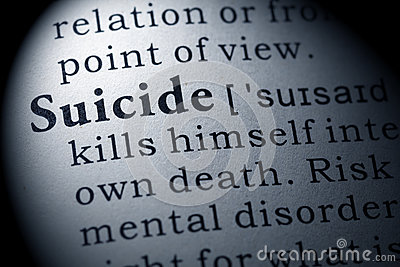 Definition of suicide