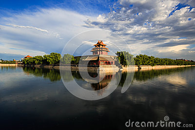 The Forbidden City west turrets