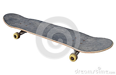 A Skateboard. Isolated With PNG File Attached