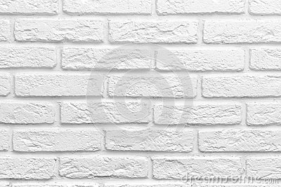 Abstract weathered texture stained old stucco light gray white brick wall background, grungy blocks of stonework