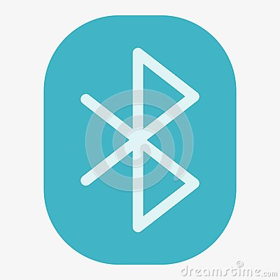 Bluetooth Vector Icon