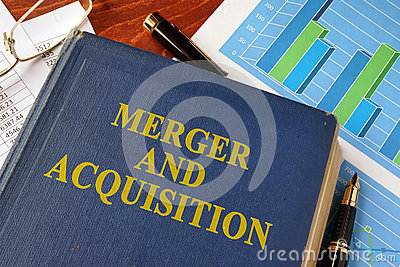 Book with title Merger and Acquisition.