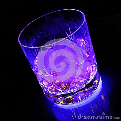 Partytime neon glow drink