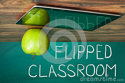 Flipped Classroom Concept