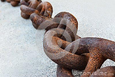 Rusty strong chain