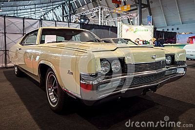 Full-size personal luxury car Mercury Marauder X-100, 1969.