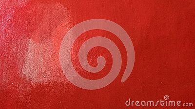 Grungy red marbled ribbed concrete painted wall background.