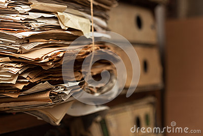 Files in Archive Room