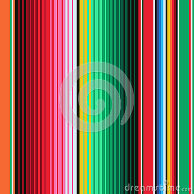 Mexican Blanket Stripes Seamless