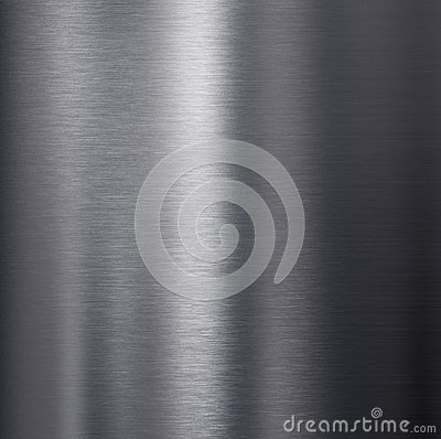 Brushed dark aluminum metal texture