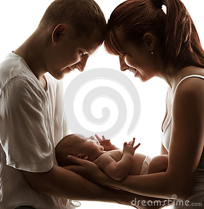 Baby Family Newborn Parents Kid New Born Mother Father Child