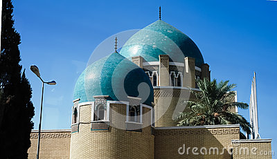 The royal cemetery and Mausoleum in Adamiyah, Baghdad, Iraq