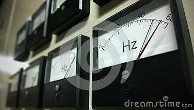 Frequency scale meter