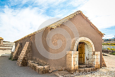 Old Church of Socaire Village - Atacama Desert, Chile