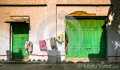 Laundry in Mumbai, India